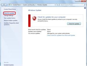 Window 7 won't update Fix Updates